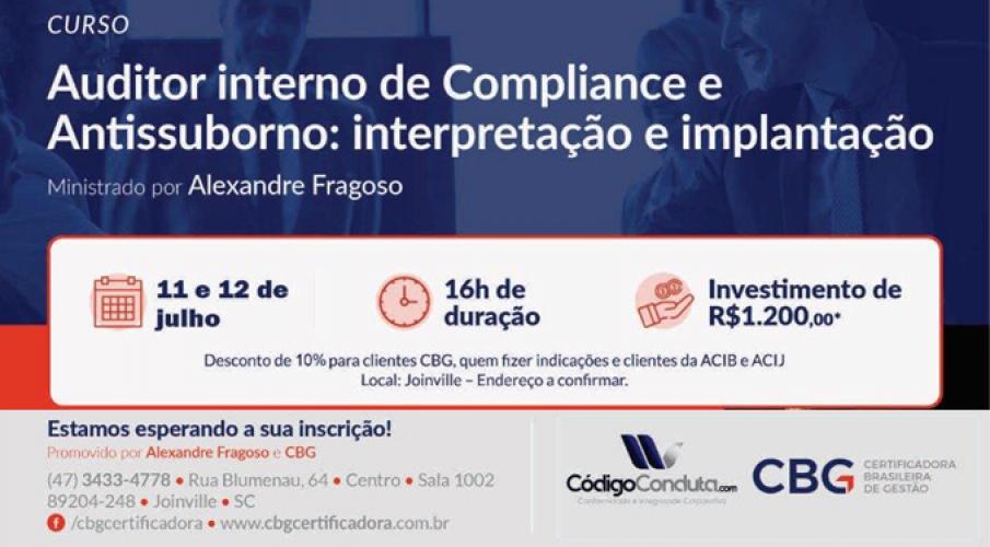 Curso Auditor Interno de Compliance